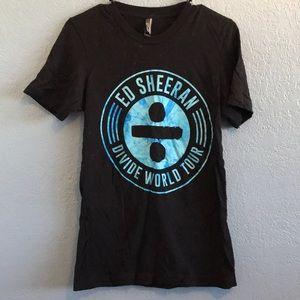 Ed Sheeran Divide Tour Shirt